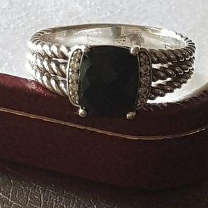 David Yurman Wheaton Petite Black Onyx Ring